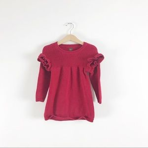 Tea Collection Red Sweater Dress